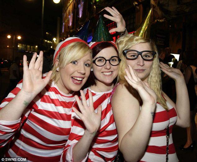 Sexy Where's Waldos