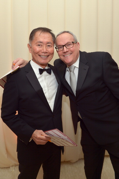 George Takei is a living legend. (Love you too, Brad!)