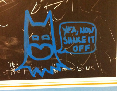 Batman urinal