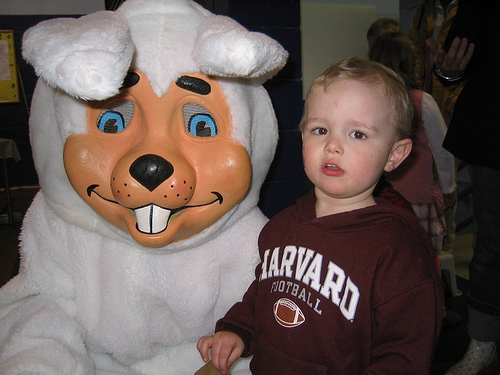 The son Whack-a-mole and The Easter Bunny never talk about.