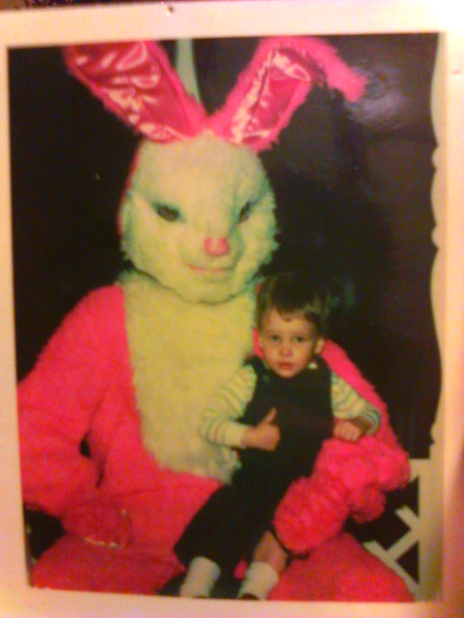 Why is the Easter Bunny eye-f*cking me?
