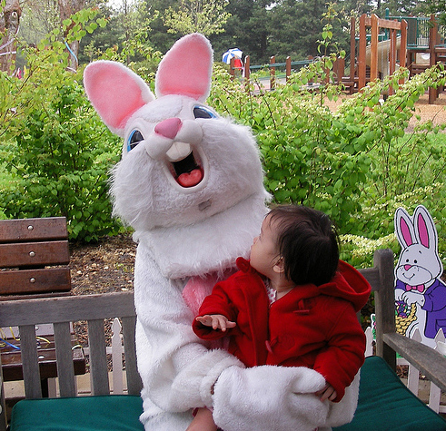 Sarcastic Bunny scoffs at you and your children.