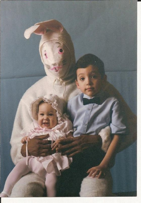 KKK Bunny wants you to know he's only 15% Racist at Easter.