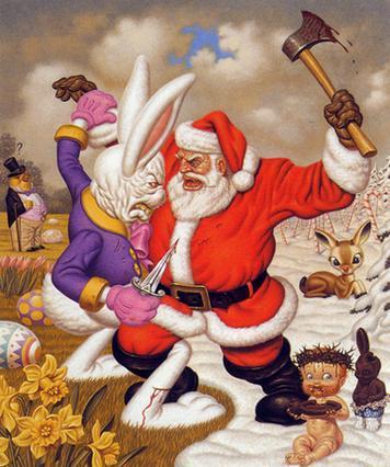 santa-vs-easter-bunny