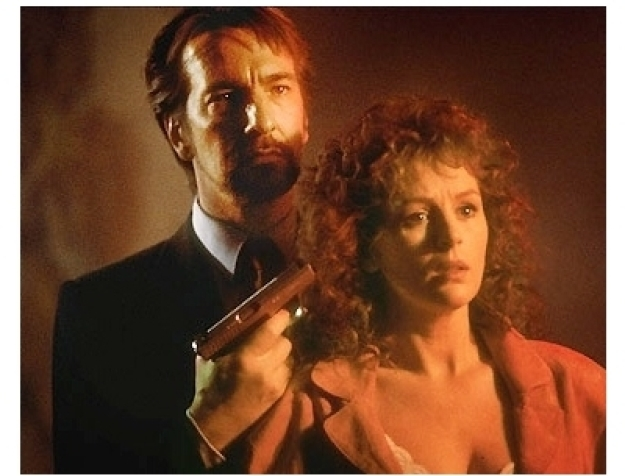 Any time Rickman's on camera it's Christmas for me.