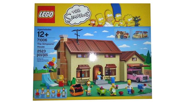 simpsons house set