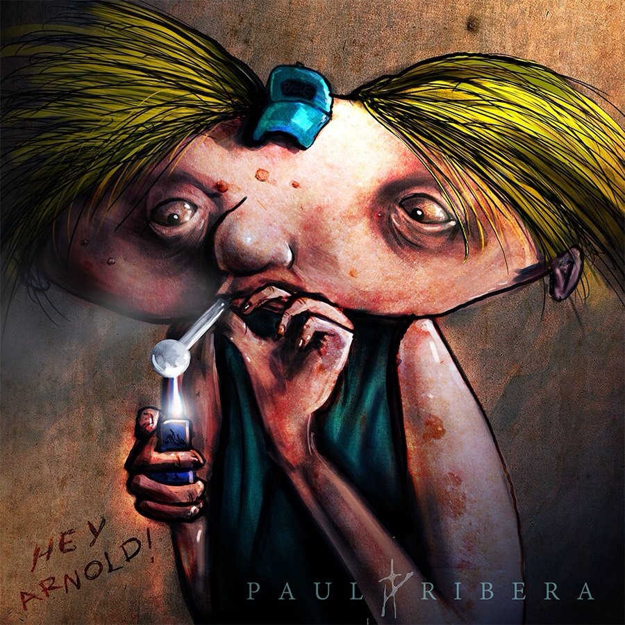 Hey Arnold, put down that pipe!