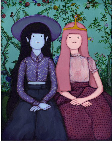 Marceline and Bonnibel