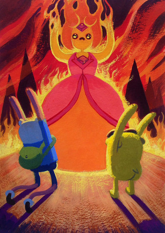 Bow down to Flame Princess!