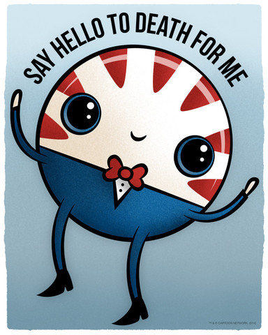 Peppermint Butler, bringing the Adorbz to evil.