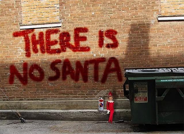 Truth in graffiti.