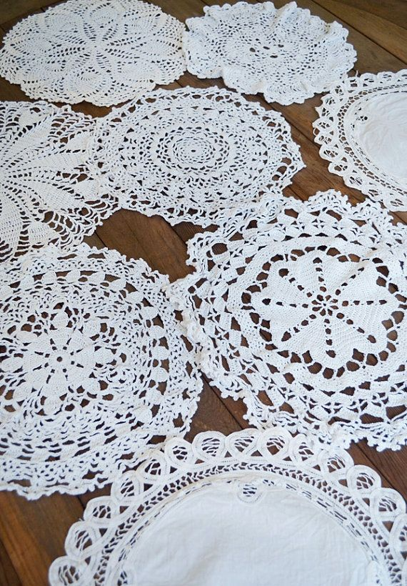 I predict a windfall of doilies this weekend.