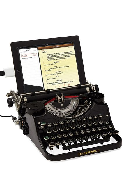 Forget Typewriters this here is a Typewronger.