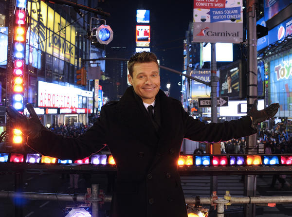 It's not a New Year until Ryan Seacrest drops his glittery disco ball