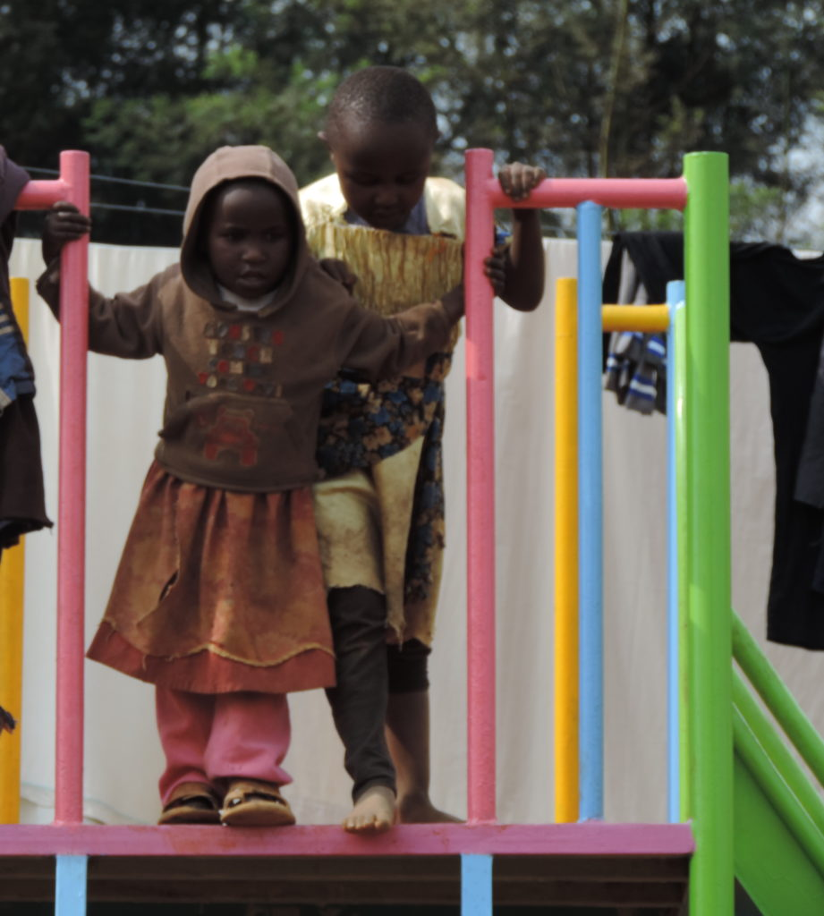 Playground joy is universal and transcends money.